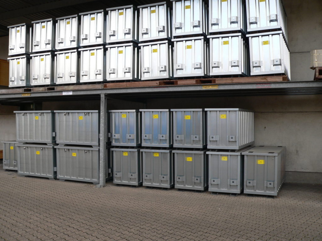 Security tool boxes -stacked